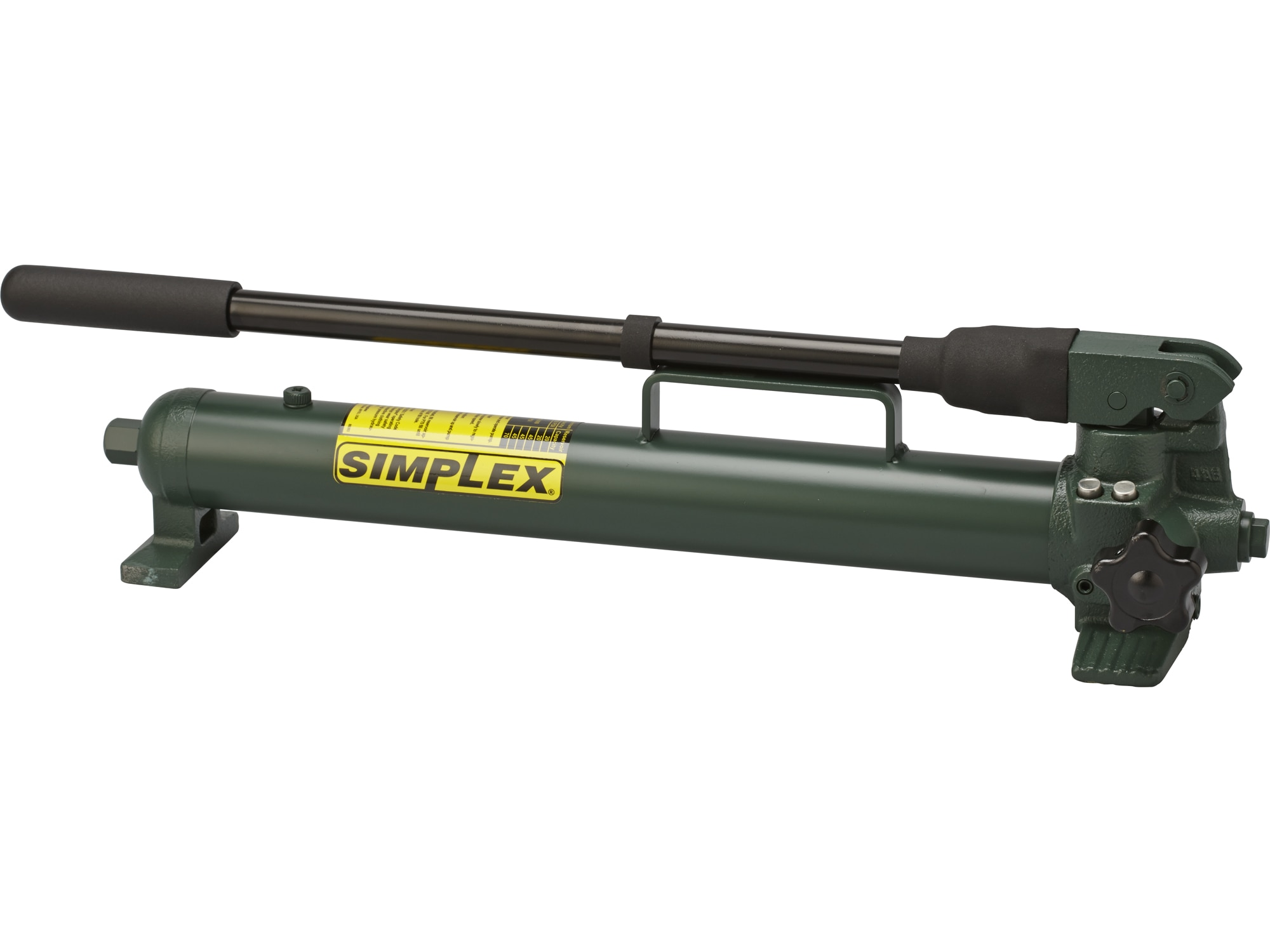 P42, Two Speed, Compact Steel Hydraulic Hand Pump, 0 16 in3 (2,6 cm3